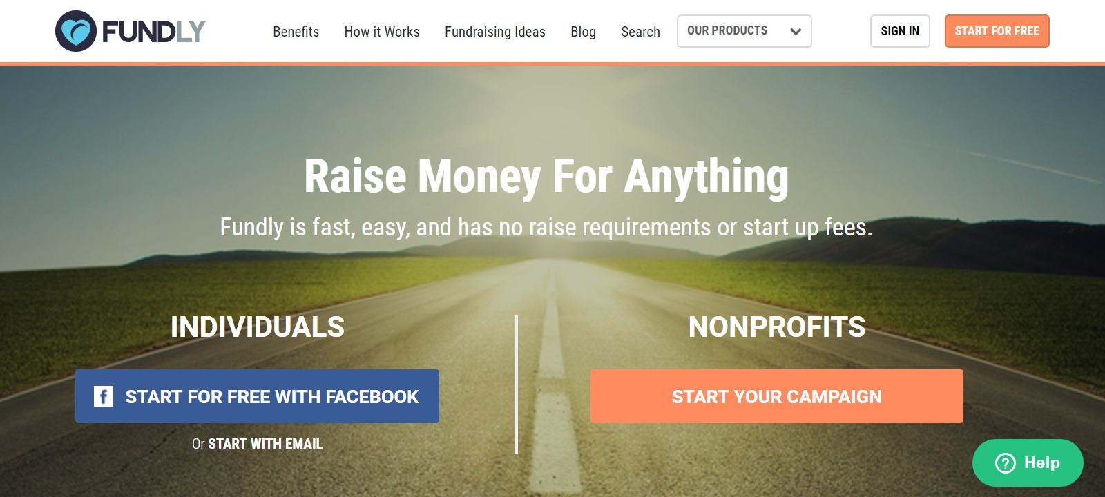 how to get personal donations online