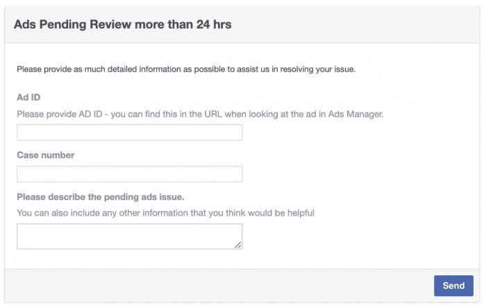 """如何修复一直显示""""审核中""""(In Review)的Facebook广告"""