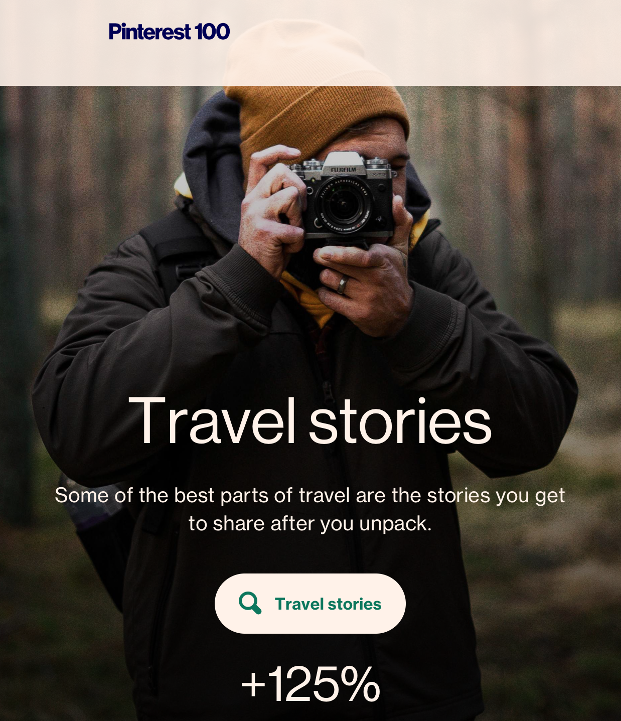 Pinterest 100 Screenshot: 2020 Travel Trends