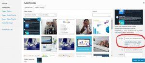 SEO-friendly WordPress screenshot