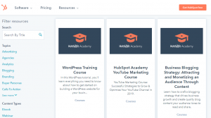online blogging courses