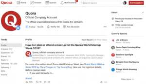 how to use quora for digital marketing establish your brand profile