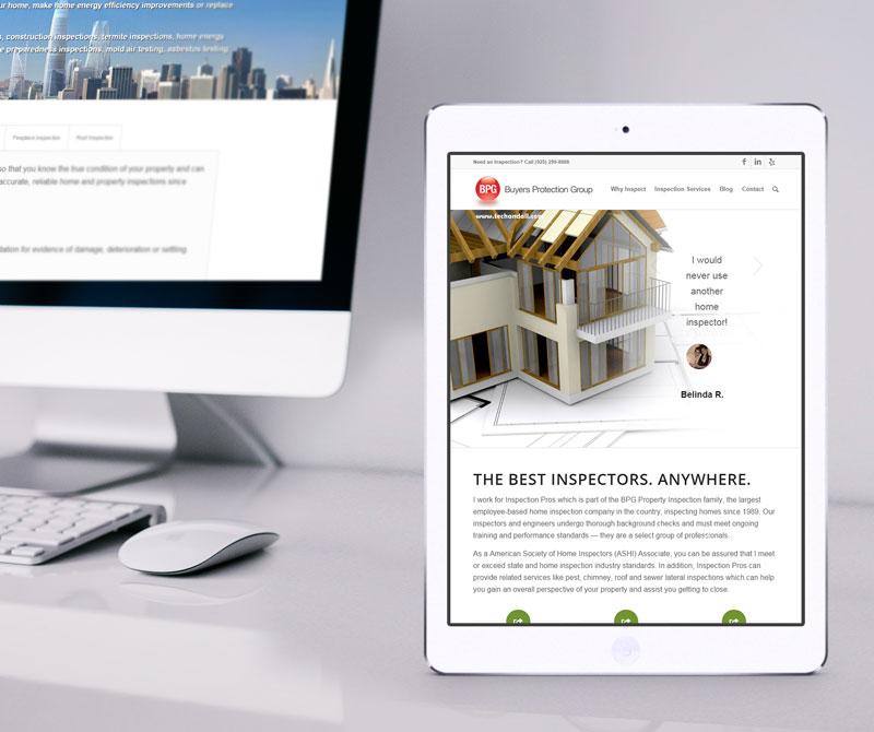 East Bay Home Inspection Pros – San Francisco Web Design